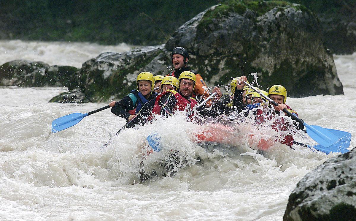 Rafting in Berchtesgaden, Berchtesgadener Ache